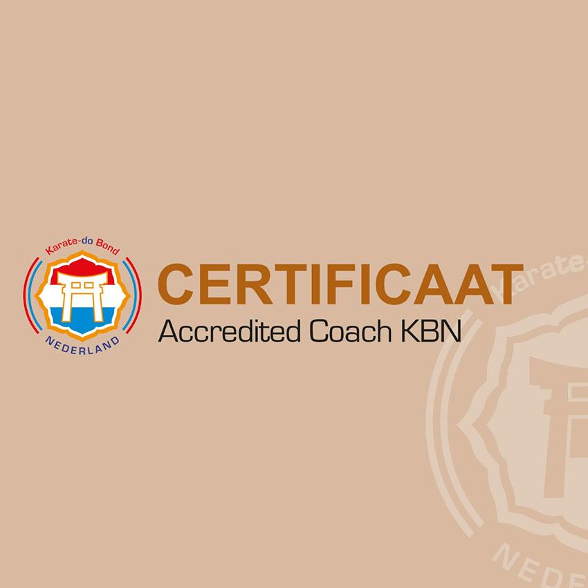 Certificaat coach