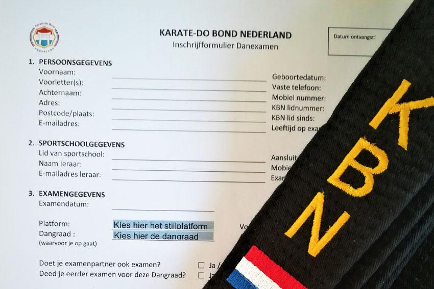 Examens aanmelden