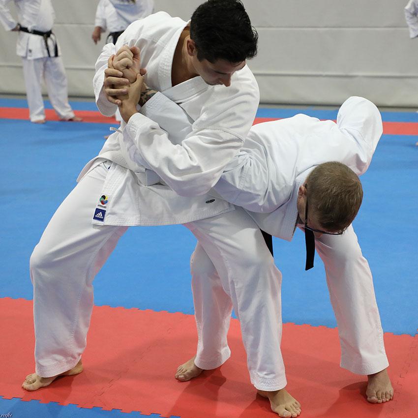 Karate een georganiseerde sport