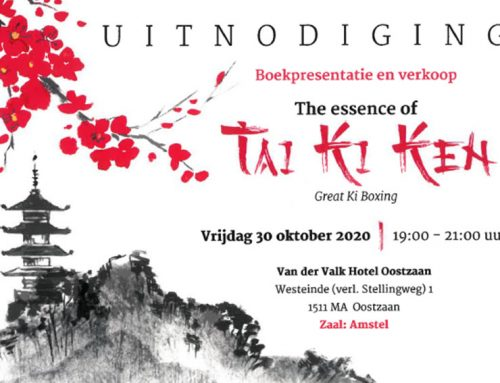 Boekpresentatie 'The essence of Tai Ki Ken'