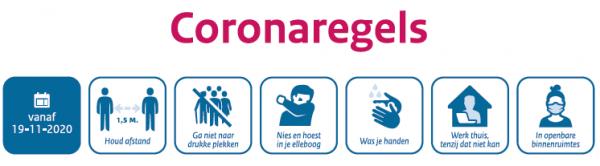 Coronaregels 19-11