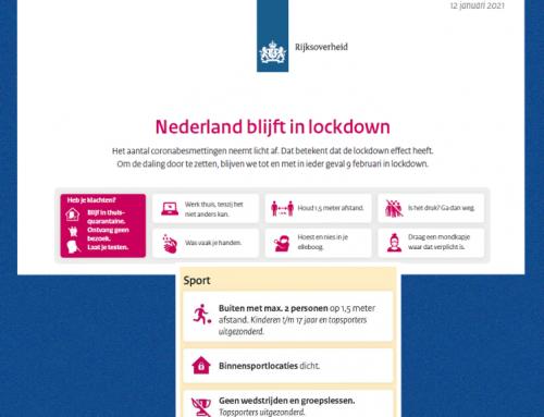 Lockdown verlengd