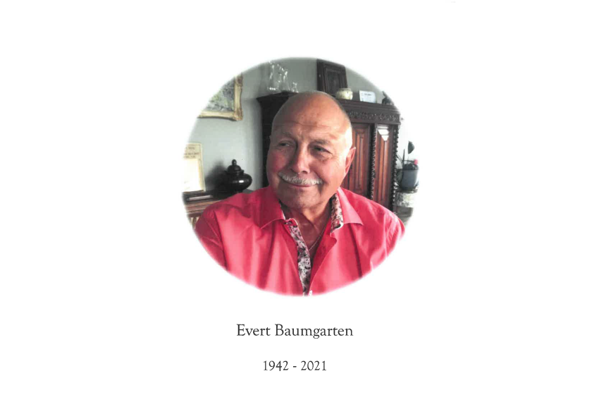 In memoriam: Evert Johannes Baumgarten