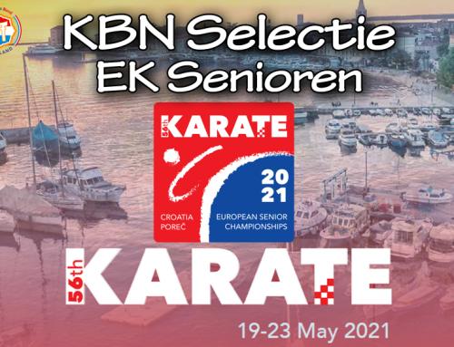 Selectie EK senioren 2021