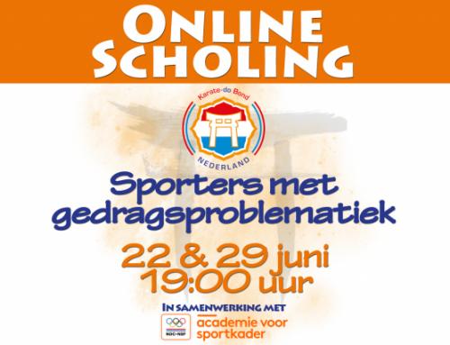 Online scholing 'Sporters met gedragsproblematiek'